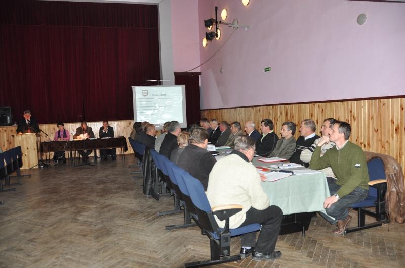 Galeria zdjęć: XI Sesja Rady Miejskiej w Pruchniku