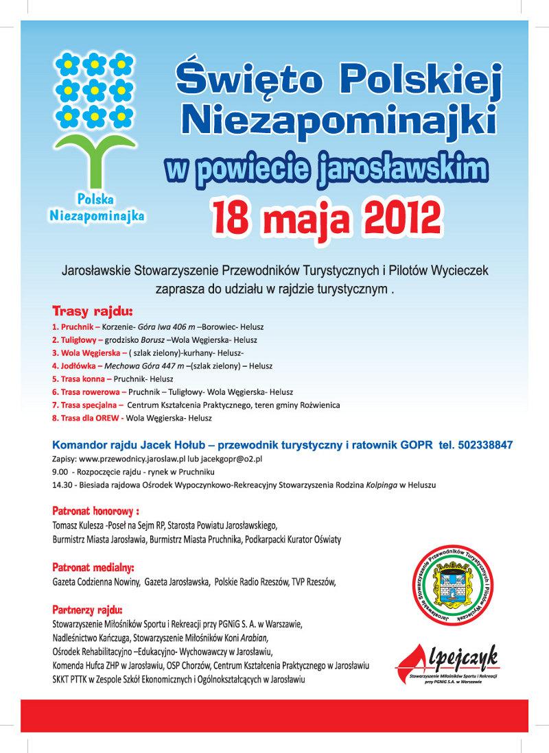 Galeria zdjęć: Święto Polskiej Niezapominajki w powiecie jarosławskim 18 maja 2012.