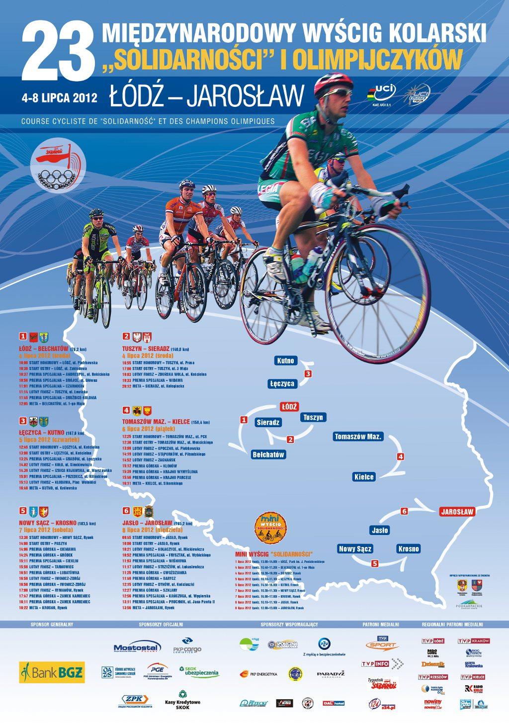 Galeria zdjęć: 23. Międzynarodowy Wyścig Kolarski 'Solidarności' i Olimpijczyków.