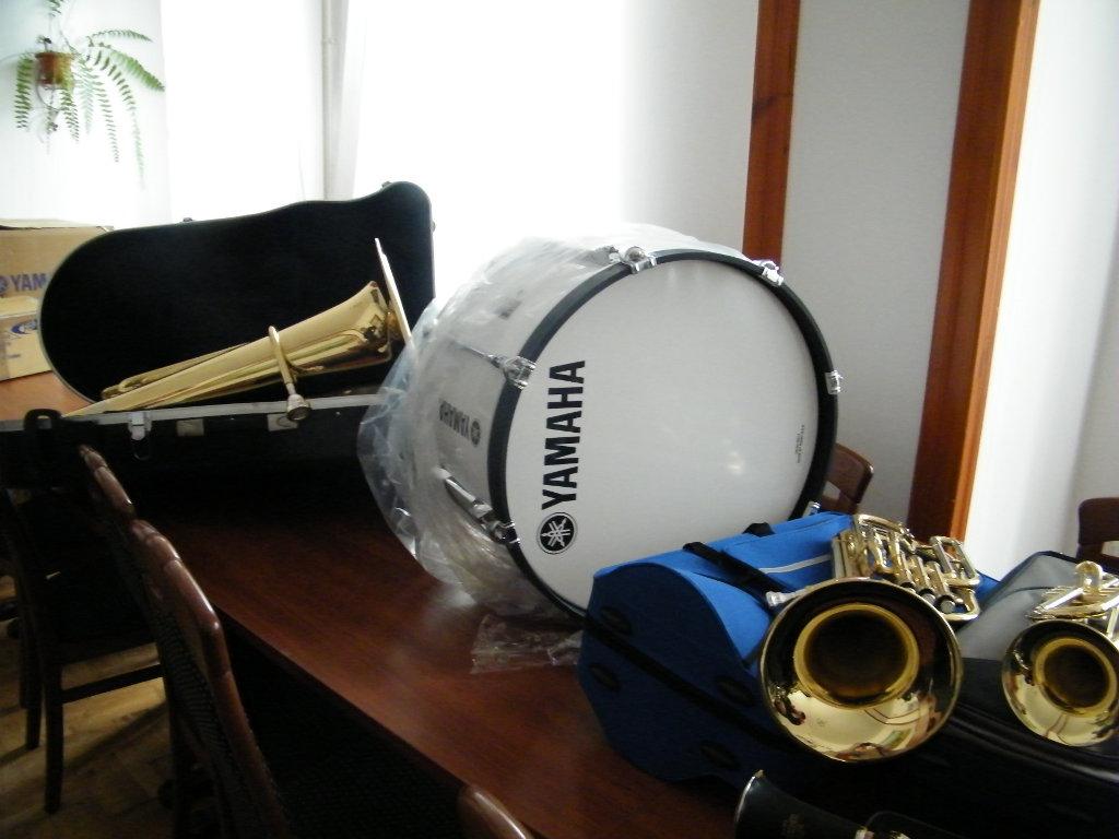 Galeria zdjęć: Zakup instrumentów i akcesoriów muzycznych dla Orkiestry Dętej z Pruchnika
