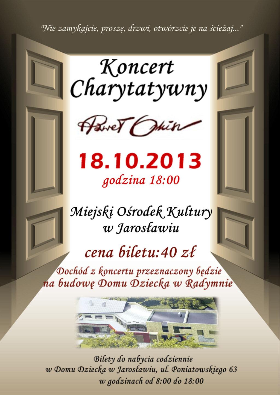 Galeria zdjęć: Koncert charytatywny Pawła Orkisza w Jarosławiu