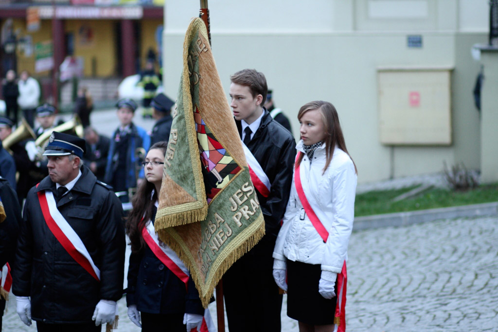 Galeria zdjęć: Narodowe Święto Niepodległości – Pruchnik 11.11.2013