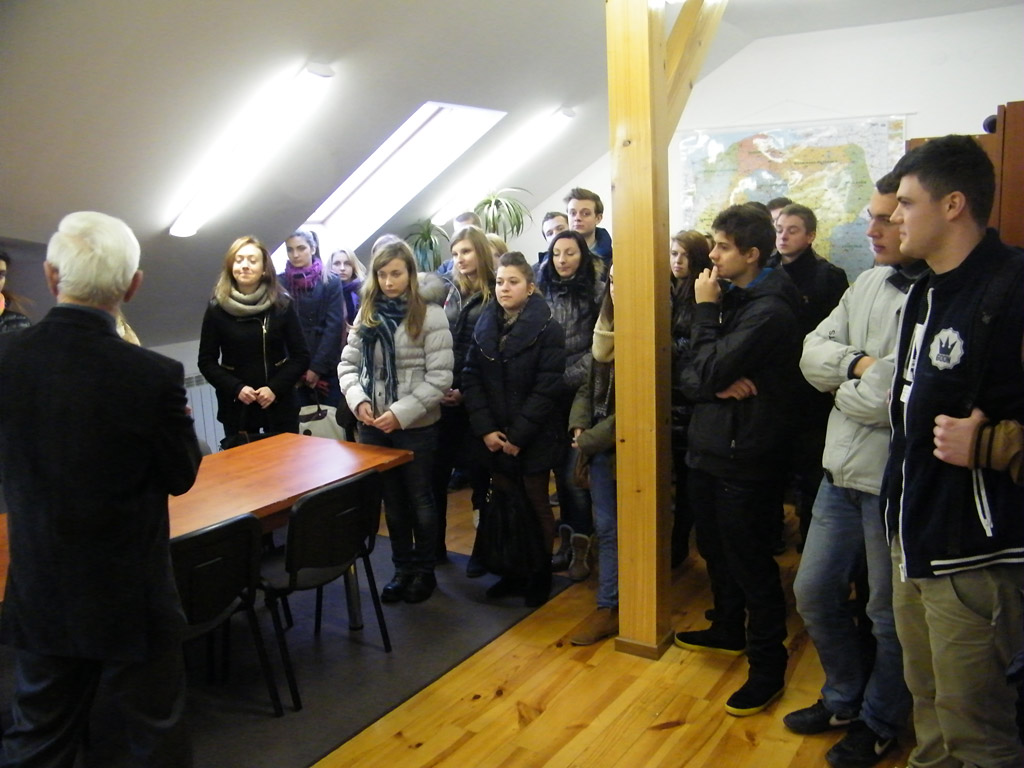 Galeria zdjęć: Spotkanie ze studentami