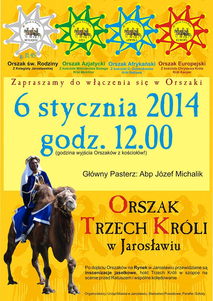 Galeria zdjęć: Orszak Trzech Króli w Jarosławiu