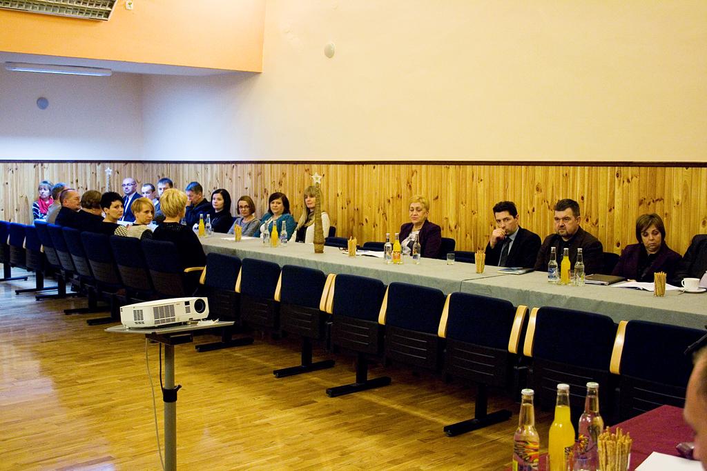 Galeria zdjęć: Podsumowanie roku - XXXII Sesja Rady Miejskiej w Pruchniku