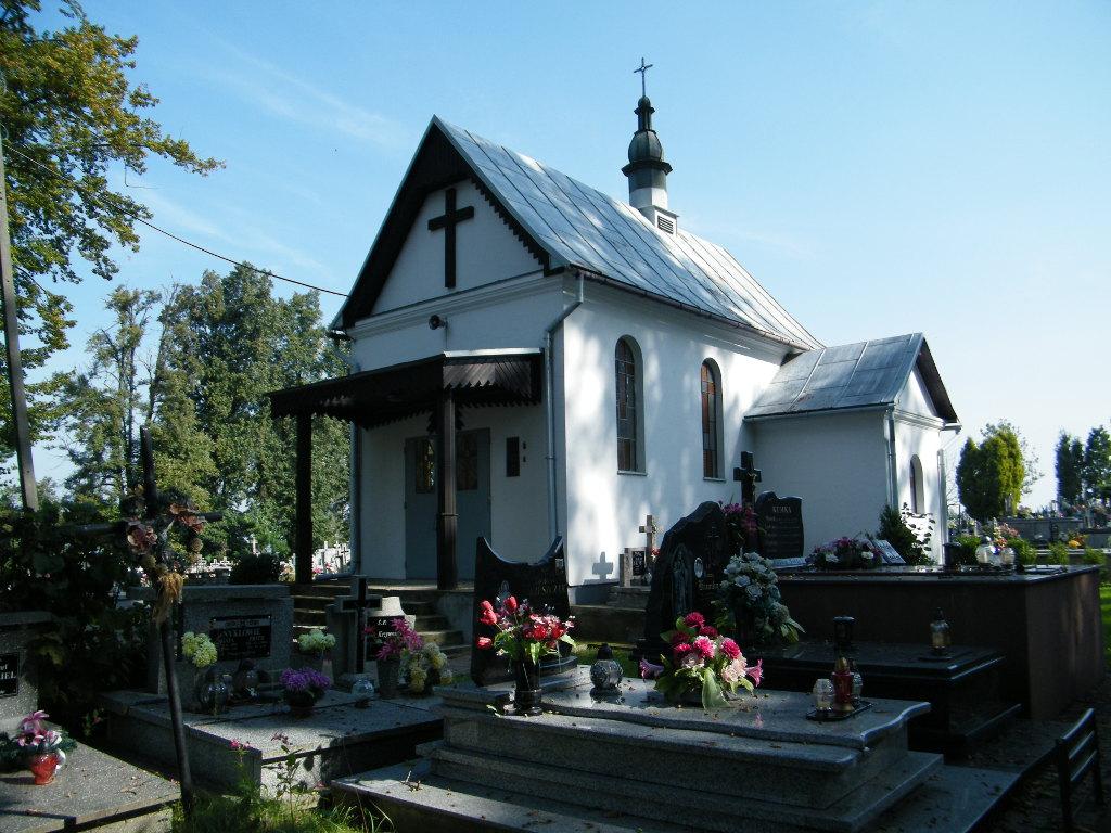 Galeria zdjęć: Rozbudowa i przebudowa kaplicy na cmentarzu komunalnym w Pruchniku