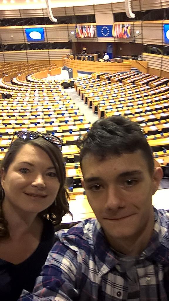 Galeria zdjęć: I my byliśmy w Brukseli.