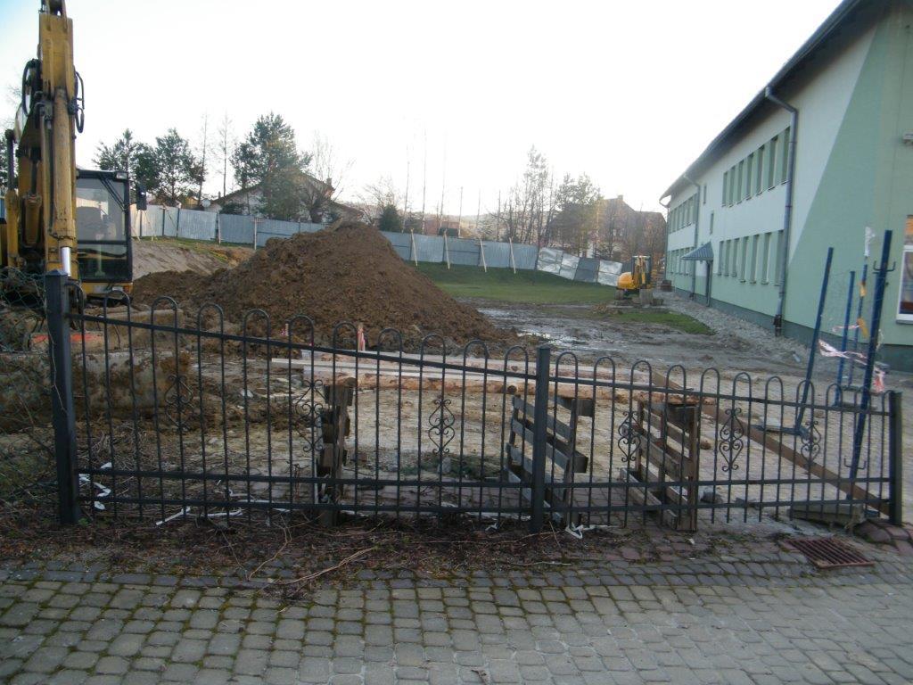 Galeria zdjęć: Budowa sali gimnastycznej i wyposażenie w nowoczesny sprzęt ICT Szkoły Podstawowej w Kramarzówce