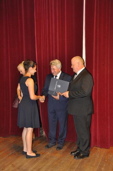 Galeria zdjęć: Uroczystość wręczenia stypendiów Burmistrza Pruchnika o charakterze motywacyjnym