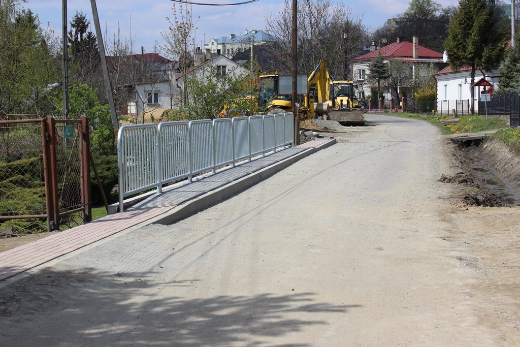Galeria zdjęć: Rozbudowa i przebudowa ul. Przemyskiej