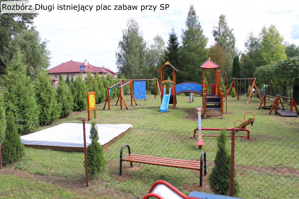 Galeria zdjęć: Budowa ogólnie dostępnych placów zabaw w miejscowości: Świebodna, Rzeplin i Rozbórz Długi