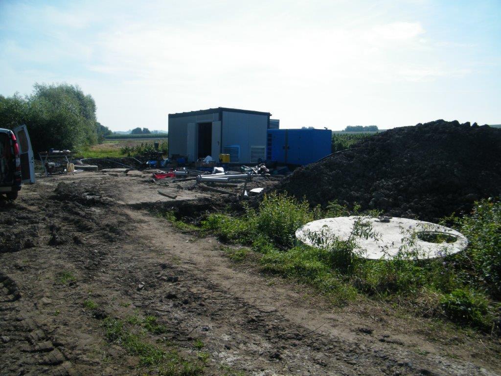 Galeria zdjęć: Budowa systemu gospodarki ściekowej w gminie Pruchnik: rozbudowa oczyszczalni ścieków oraz budowa sieci kanalizacyjnej wraz z przyłączami w Pruchniku i Hawłowicach