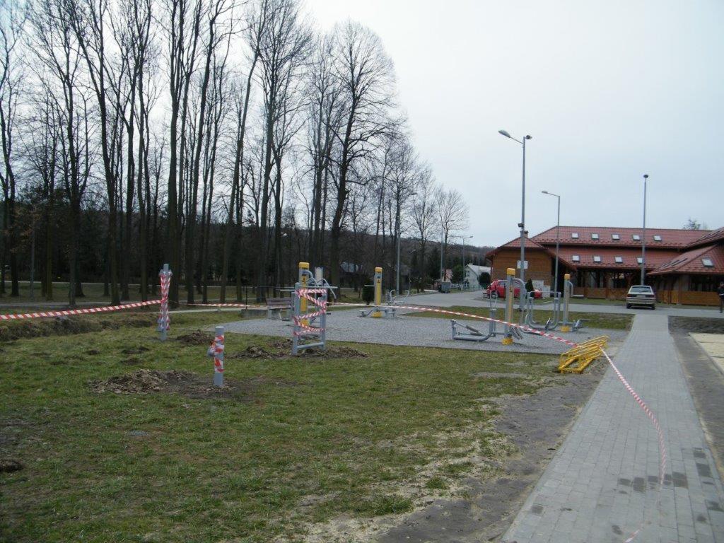 Galeria zdjęć: LGD sfinansowało powstanie dwóch siłowni zewnętrznych w Gminie Pruchnik