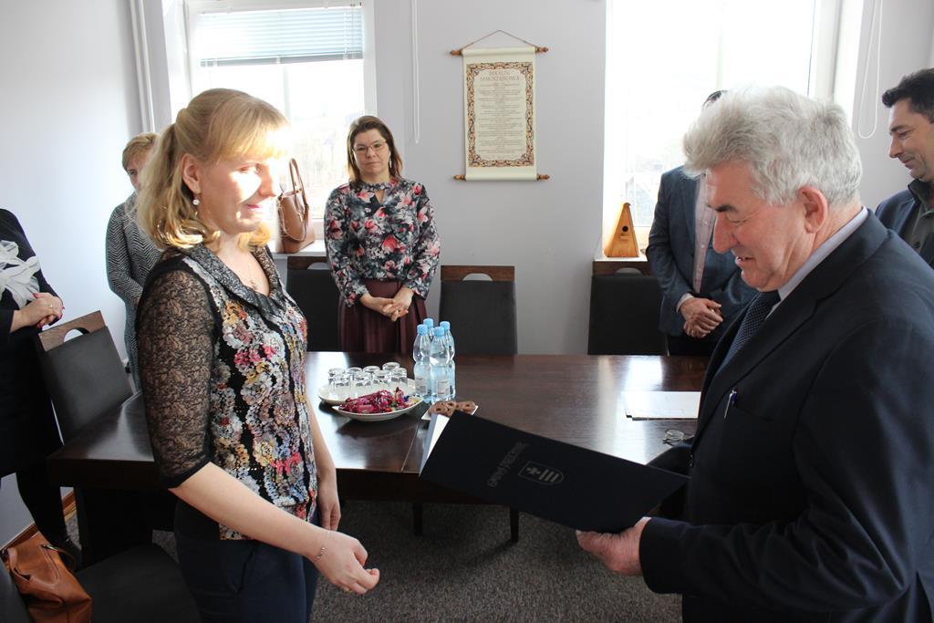 Galeria zdjęć: Wręczenie aktu nadania stopnia awansu zawodowego